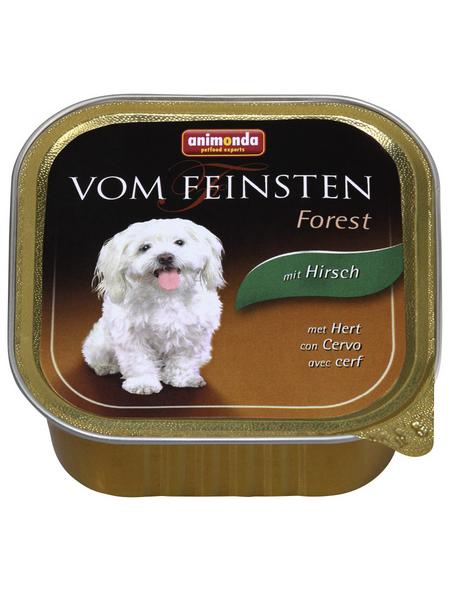 VOM FEINSTEN Hunde-Nassfutter »Forest«, Hirsch, 150 g