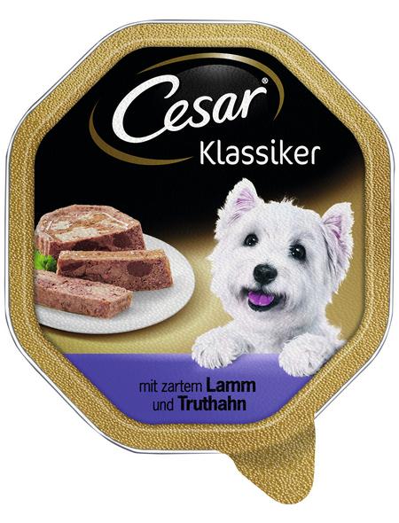 CESAR Hunde-Nassfutter »Klassiker«, Lamm & Geflügel, 150 g