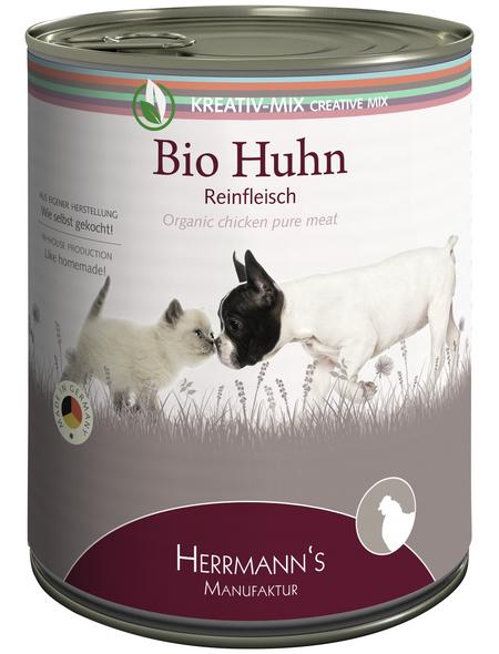 HERMANNS MANUFAKTUR Hunde Nassfutter »Kreativ-Mix«, 6 Dosen à 800 g