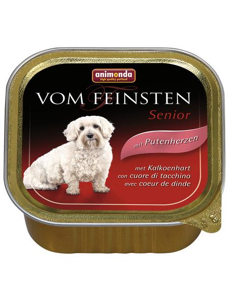 VOM FEINSTEN Hunde-Nassfutter »Senior«, Pute, 150 g