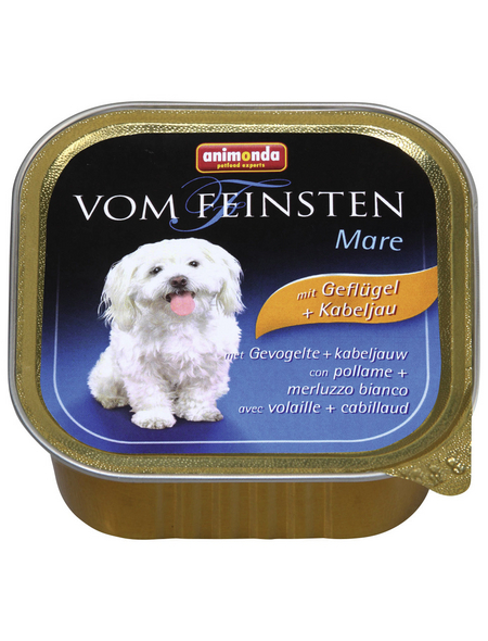ANIMONDA Hunde Nassfutter »Vom Feinsten«, Geflügel, 22x150 g