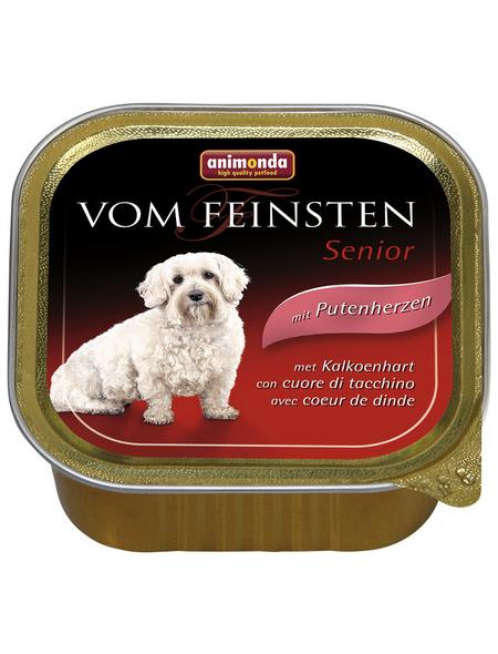 animondo Hunde Nassfutter »Vom Feinsten«, Pute, 22x150 g