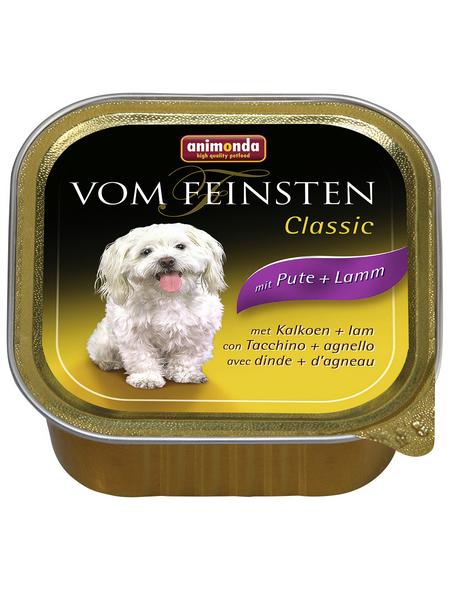 ANIMONDA Hunde Nassfutter »Vom Feinsten«, Pute / Lamm, 22x150 g