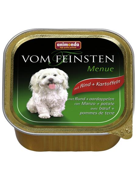 ANIMONDA Hunde Nassfutter »Vom Feinsten«, Rind / Kartoffel, 22x150 g