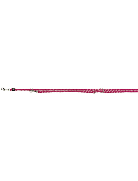 TRIXIE Hundeleine, Cavo, L–XL: 2,00 m/ø 18 mm, Gurtband, Rosa   Pink