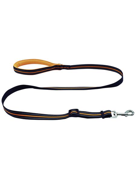 Hundeleine, Größe: 100 - 140  cm, orange
