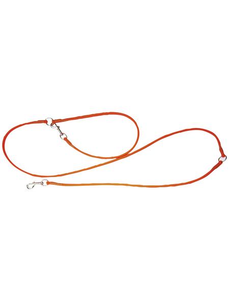 Hundeleine »Modern Art«, Größe: 250  cm, Biothane, orange