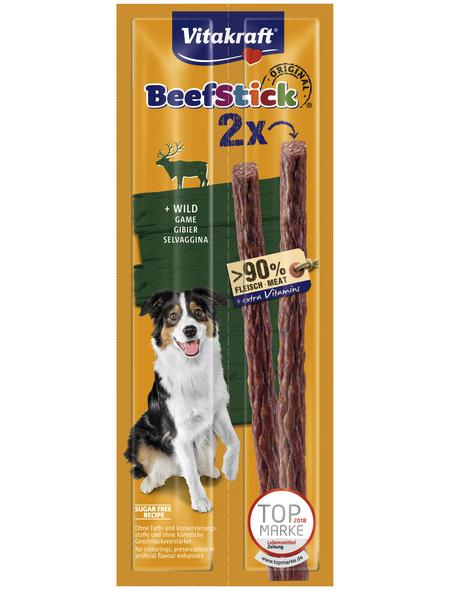 VITAKRAFT Hundesnack »Beef Stick®«, 2 Stück, je 12 g, Wild