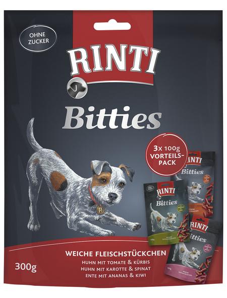 RINTI Hundesnack »Bitties«, Geflügel, 8x2,4 kg