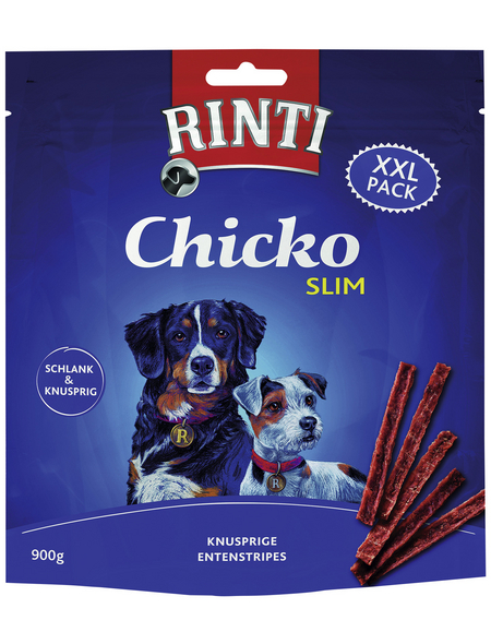 RINTI Hundesnack »Chicko «, Ente, 4x900 g