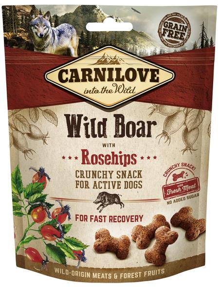 carnilove Hundesnack »Crunchy Snack«, 200 g, WildSchwein