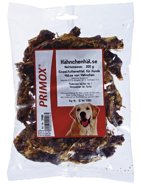 PRIMOX Hundesnack »Hähnchenhälse«, Huhn, 10x200 g