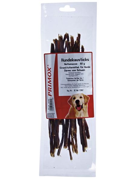 PRIMOX Hundesnack »Hundekausticks«, Schwein, 15x60 g