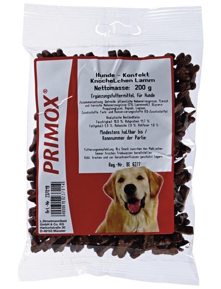 PRIMOX Hundesnack »Hundekonfekt«, Lamm, 12x200 g