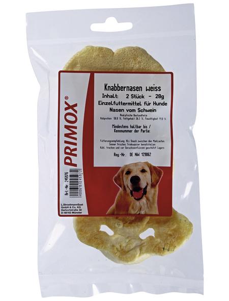 PRIMOX Hundesnack »Knabbernasen«, Schwein, 10x28 g
