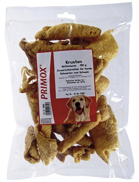 PRIMOX Hundesnack »Krusten«, Schwein, 6x150 g