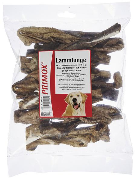 PRIMOX Hundesnack »Lammlunge«, Lamm, 9x250 g