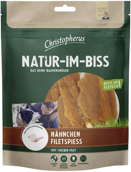 CHRISTOPHERUS Hundesnack »Natur-im-Biss«, 300 g, Hähnchen