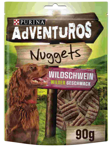 AdVENTuROS™ Hundesnack »Nuggets«, 90 g, Wild
