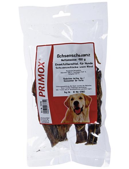 PRIMOX Hundesnack »Ochsenschwanz«, Rind, 12x150 g