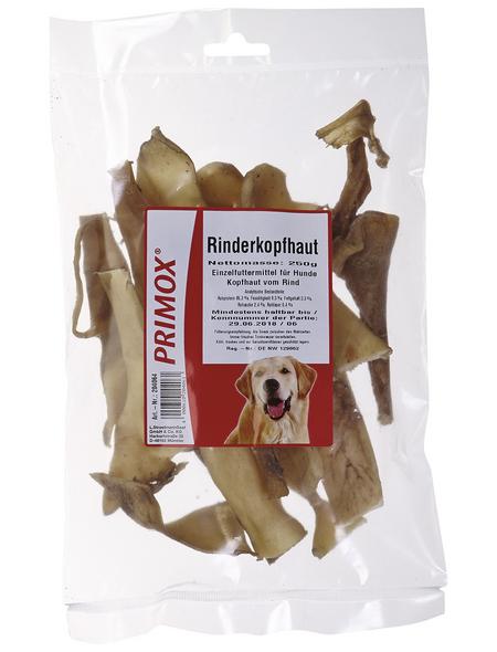PRIMOX Hundesnack »Rinderkopfhaut«, Rind, 8x250 g