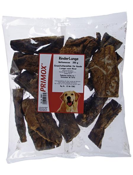 PRIMOX Hundesnack »Rinderlunge«, Rind, 10x250 g
