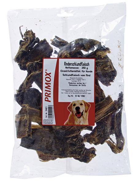 PRIMOX Hundesnack »Rinderschlundfleisch«, Rind, 10x250 g