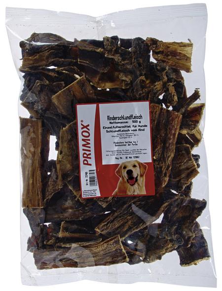 PRIMOX Hundesnack »Rinderschlundfleisch«, Rind, 6x500 g