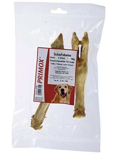 PRIMOX Hundesnack »Schafsbeine«, Schaf, 12x140 g