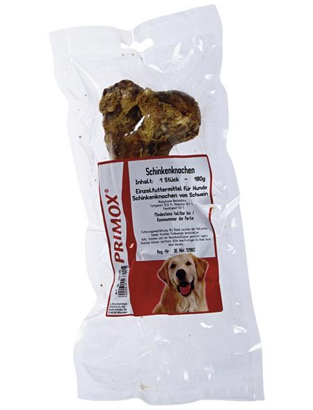 PRIMOX Hundesnack »Schinkenknochen«, Rind, 6x180 g