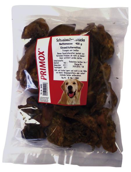 PRIMOX Hundesnack »Schweineohren«, Schwein, 8x400 g