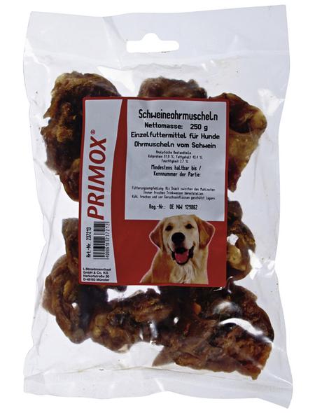 PRIMOX Hundesnack »Schweineohrmuschel«, Schwein, 8x250 g