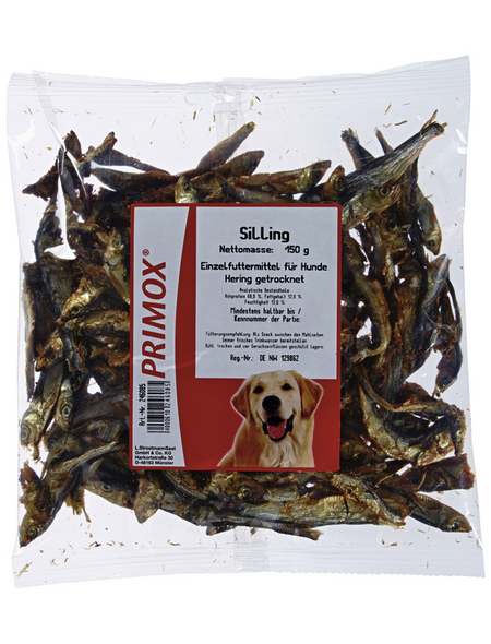 PRIMOX Hundesnack »Silling«, Fisch, 8x150 g