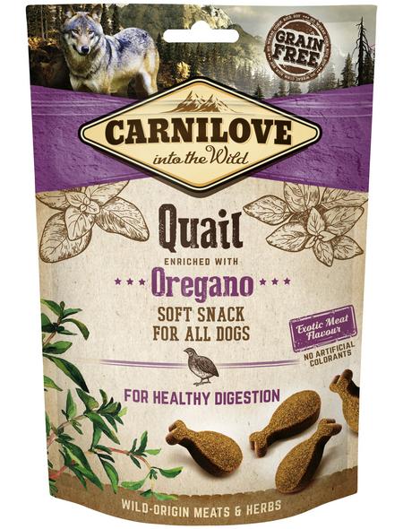 carnilove Hundesnack »Soft Snack«, 200 g, Wachtel/Oregano
