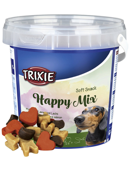 TRIXIE Hundesnack »Soft Snack«, Geflügel/Lamm/Lachs, 500 g