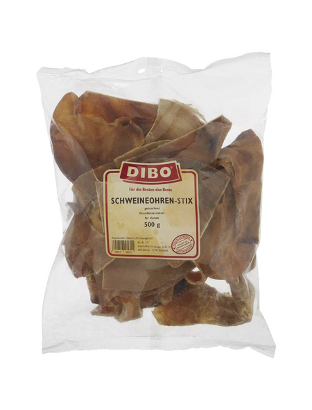 Dibo Hundetrockenfutter, 0,5 kg, Schwein
