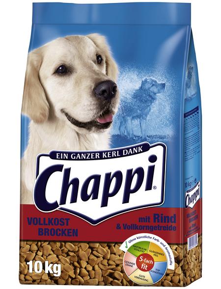 CHAPPI Hundetrockenfutter, 10 kg, Rind/GemüseGetreide