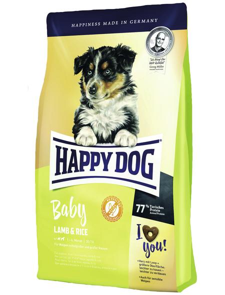 HAPPY DOG Hundetrockenfutter »Baby«, Lamm / Reis, 10 kg