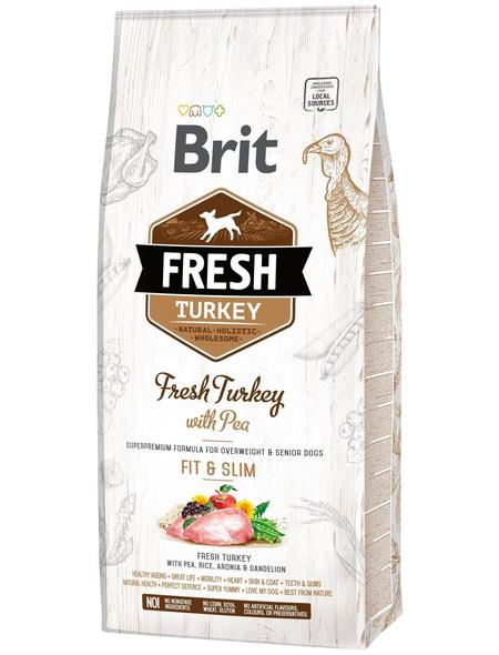 Hundetrockenfutter »BRIT Fresh Dog«, Truthahn, 12000 g