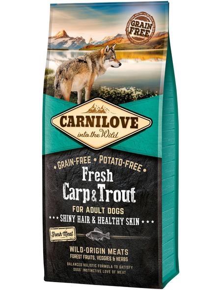 carnilove Hundetrockenfutter »Fresh«, Karpfen / Fisch, 12 kg