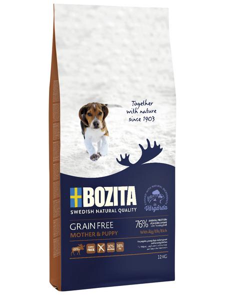 BOZITA Hundetrockenfutter »Grain Free«, 1 Beutel à 12000 g