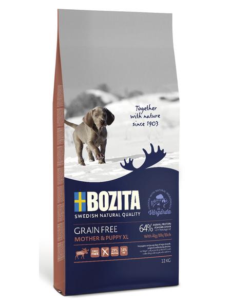 BOZITA Hundetrockenfutter »Grain Free«, Elch, 12 kg