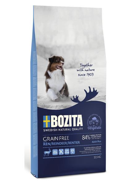 BOZITA Hundetrockenfutter »Grain Free«, Rentier, 12,5 kg