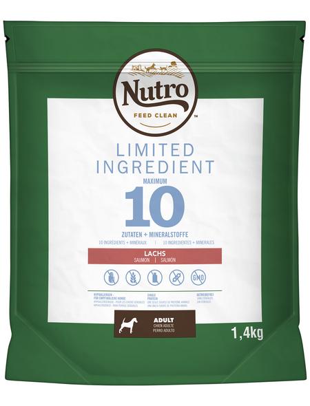 NUTRO Hundetrockenfutter »LIMITED INGREDIENT«, 1,4 kg
