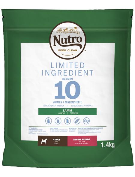NUTRO Hundetrockenfutter »LIMITED INGREDIENT«, Inhalt: 1,4 kg