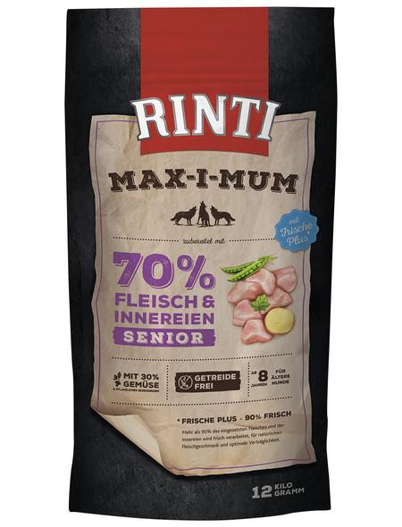 RINTI Hundetrockenfutter »MAX-I-MUM «, Huhn, 12 kg