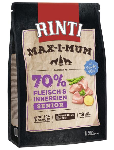 RINTI Hundetrockenfutter »MAX-I-MUM «, Huhn, 4x1 kg