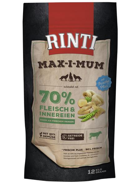 RINTI Hundetrockenfutter »MAX-I-MUM «, Pansen, 12 kg