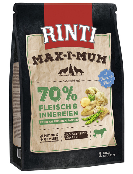 RINTI Hundetrockenfutter »MAX-I-MUM «, Pansen, 4x1 kg