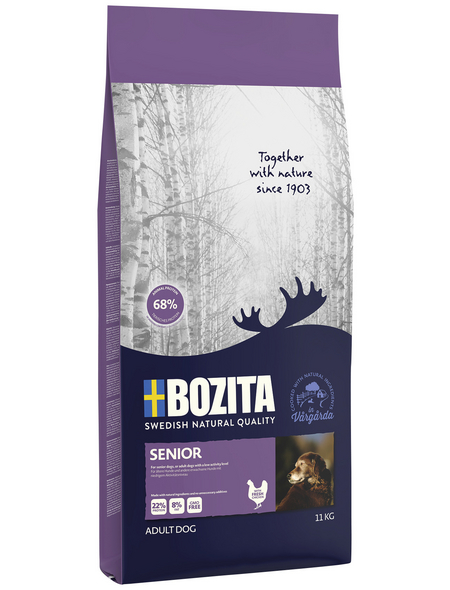 BOZITA Hundetrockenfutter »Naturals«, 1 Beutel à 11000 g